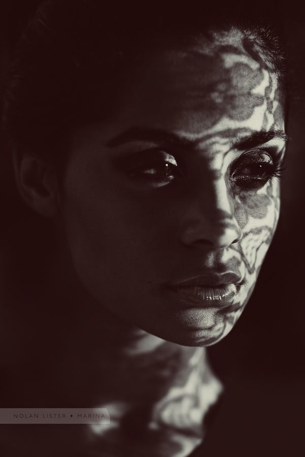 Nolan Lister Shadows On Face Photo Luv Photography