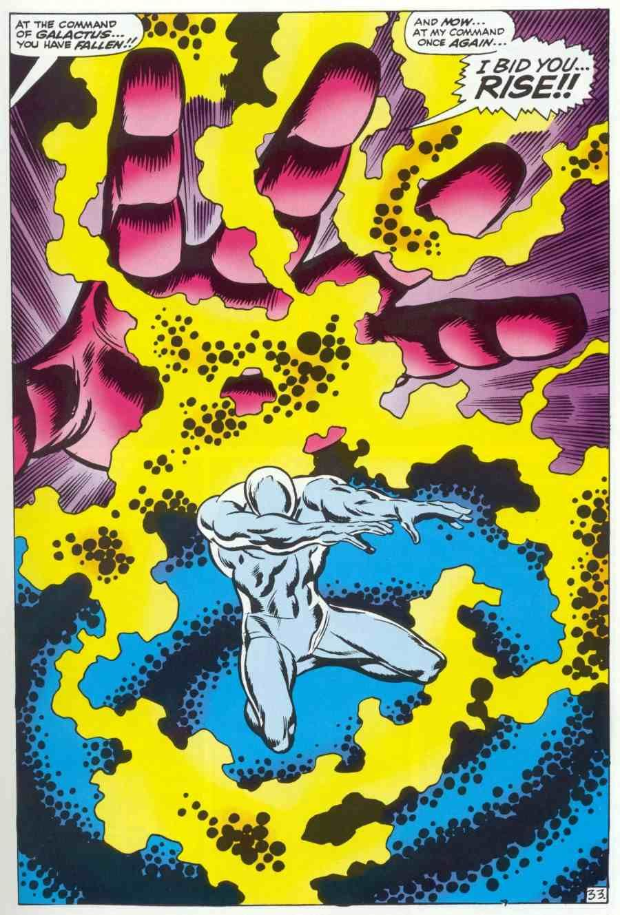 The Origin Of The Silver Surfer By Stan Lee And John Buscema Silver Surfer Comic Silver Surfer Cosmic Comics