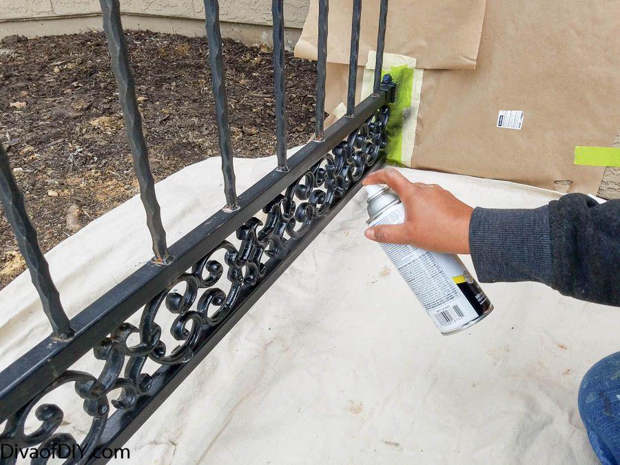 How to spray paint metal like a pro metallic spray paint