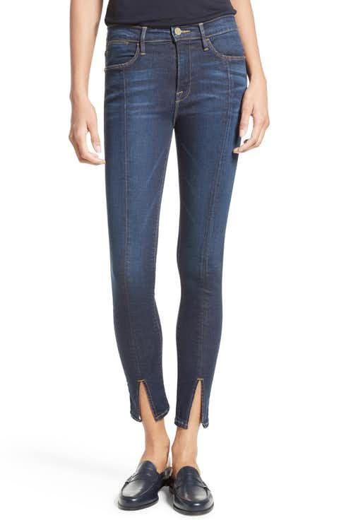 eb9620d766260 FRAME Le High Skinny Front Split High Waist Jeans (Wyman)