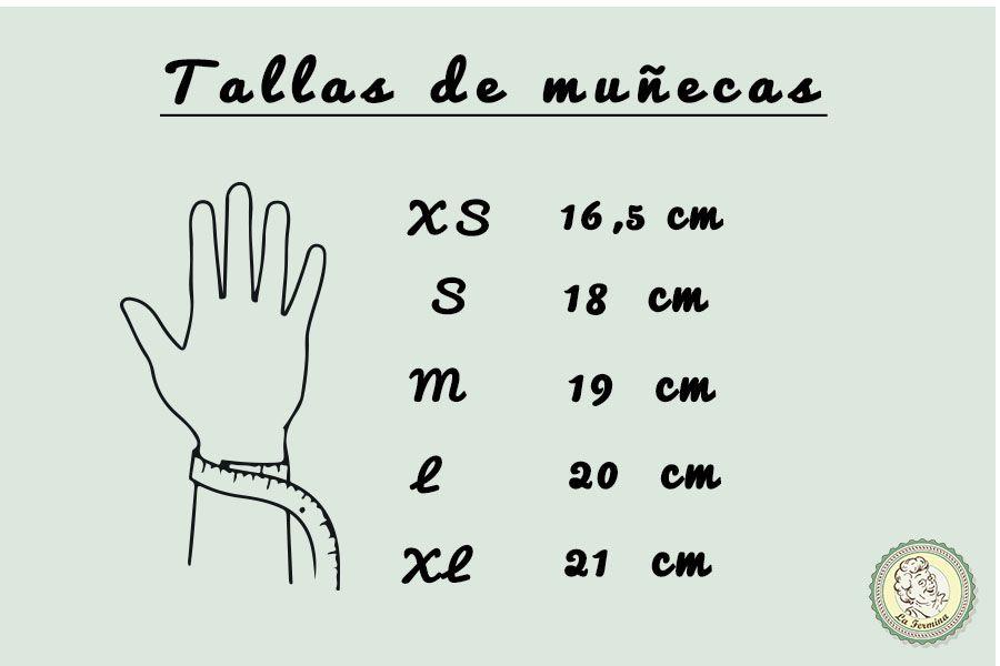 86851e15d67 Descubre las medidas de pulsera estándar para mujeres, hombres, niños y  bebés