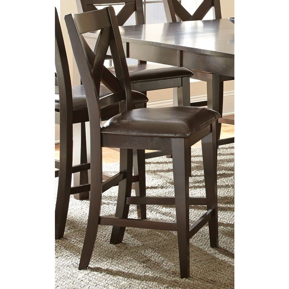 Copley 24inch counter height xback chair by greyson