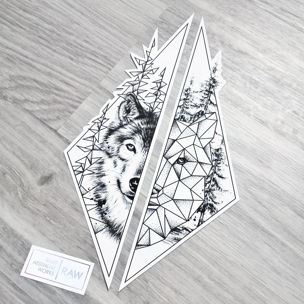 Raw Rare Aesthetic Works Photo Geometric Tattoo Tattoos Sleeve Tattoos
