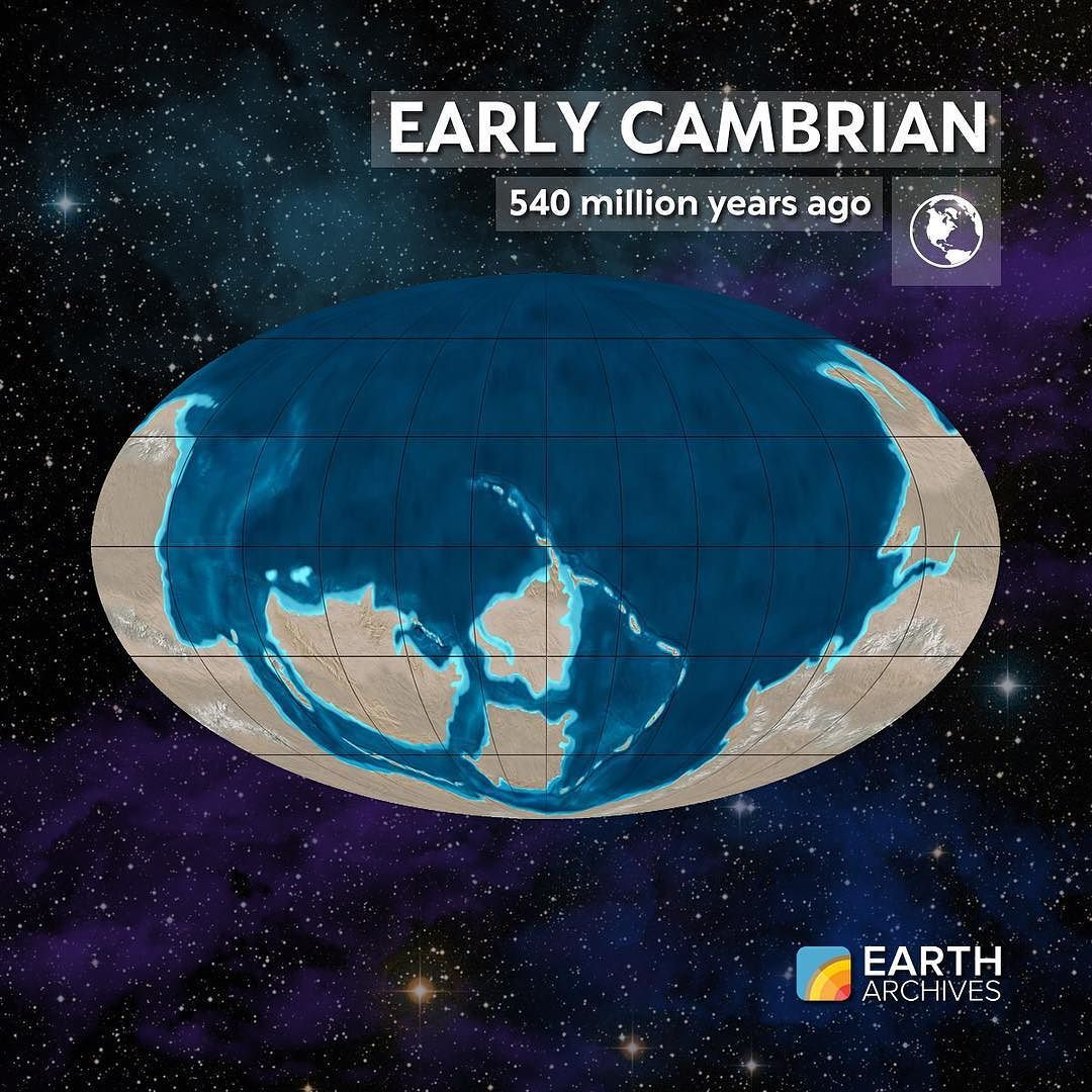 Earth Sciences: During The Early Cambrian 540 Million Years Ago