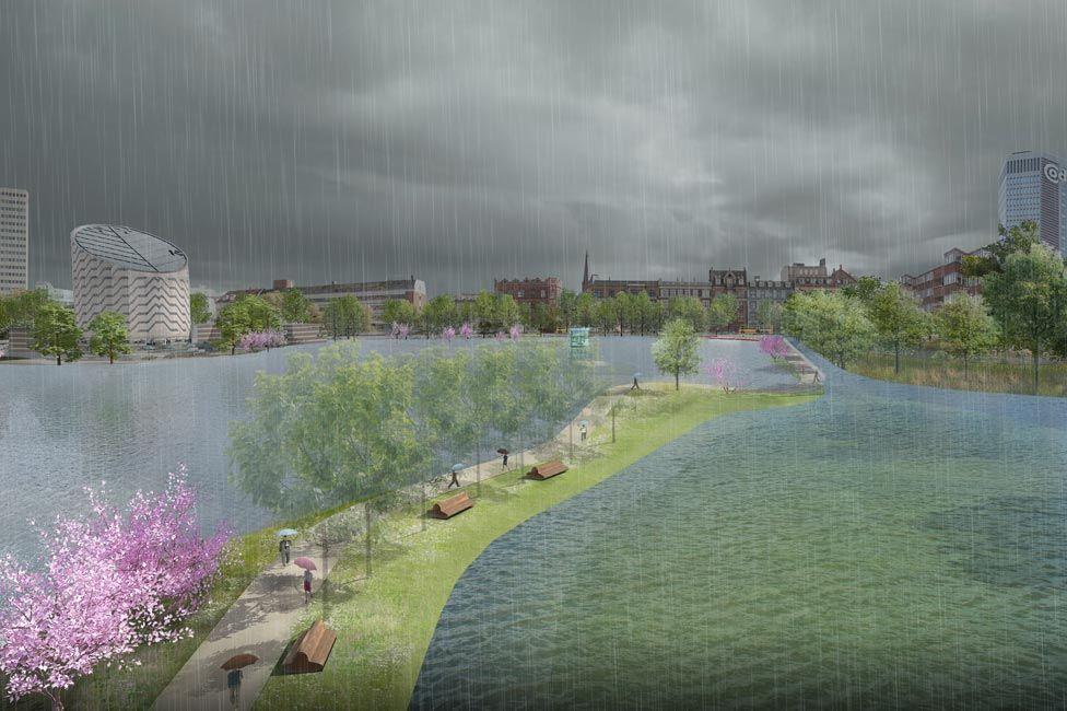 Copenhagen Strategic Flood Masterplan By Ramboll Studio Dreiseitl