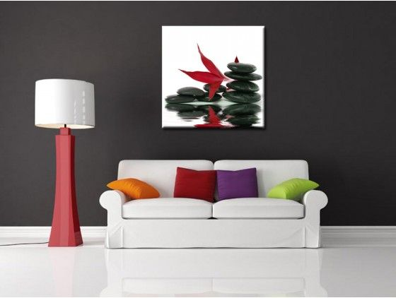 Tableau Deco Murale Zen Red Apple