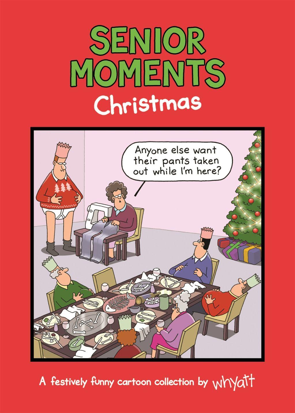 Senior Moments Christmas (eBook) Christmas humor, In