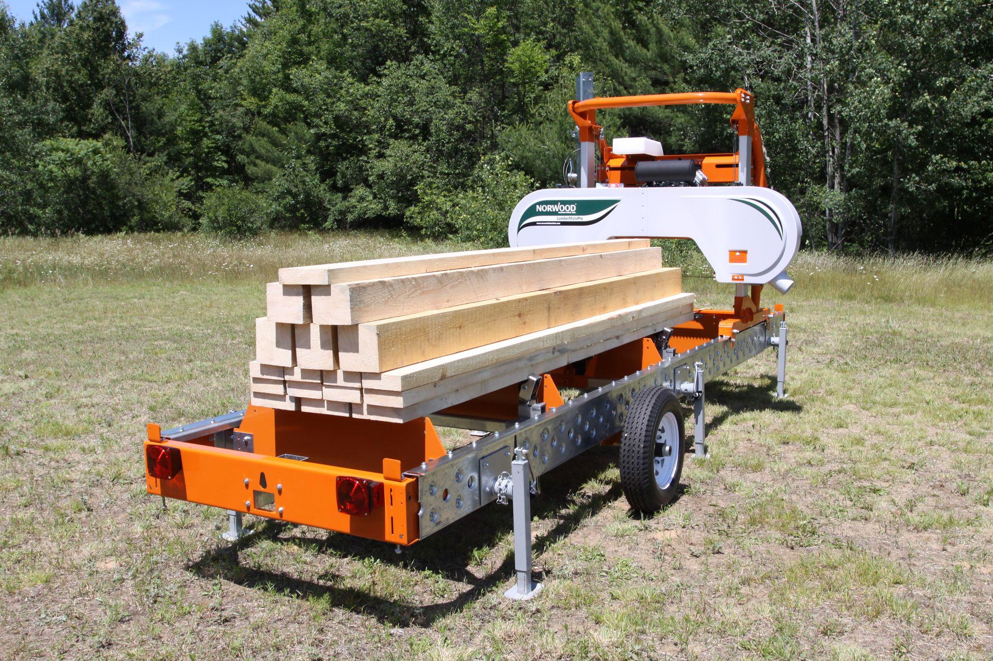 Norwood Lumbermate Lm29 Portable Sawmill