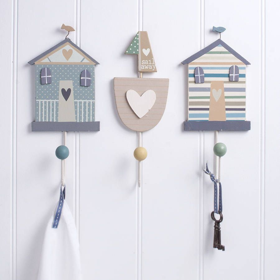 Nautical gifts for the home - Gisela Graham Shoreline Wall Hook A Great Range Of Nautical Gifts And Homewares From The Contemporary Home Online Shop