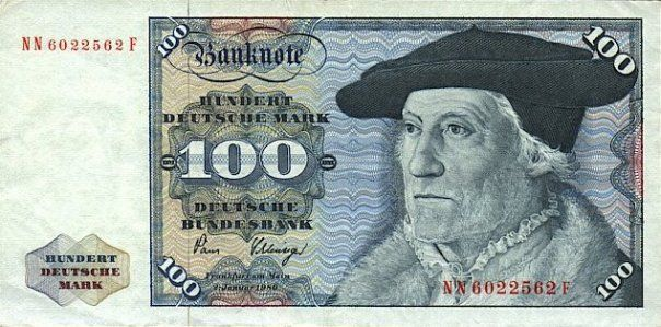 Deutsche Mark Cold hard cash Money notes, Money rose