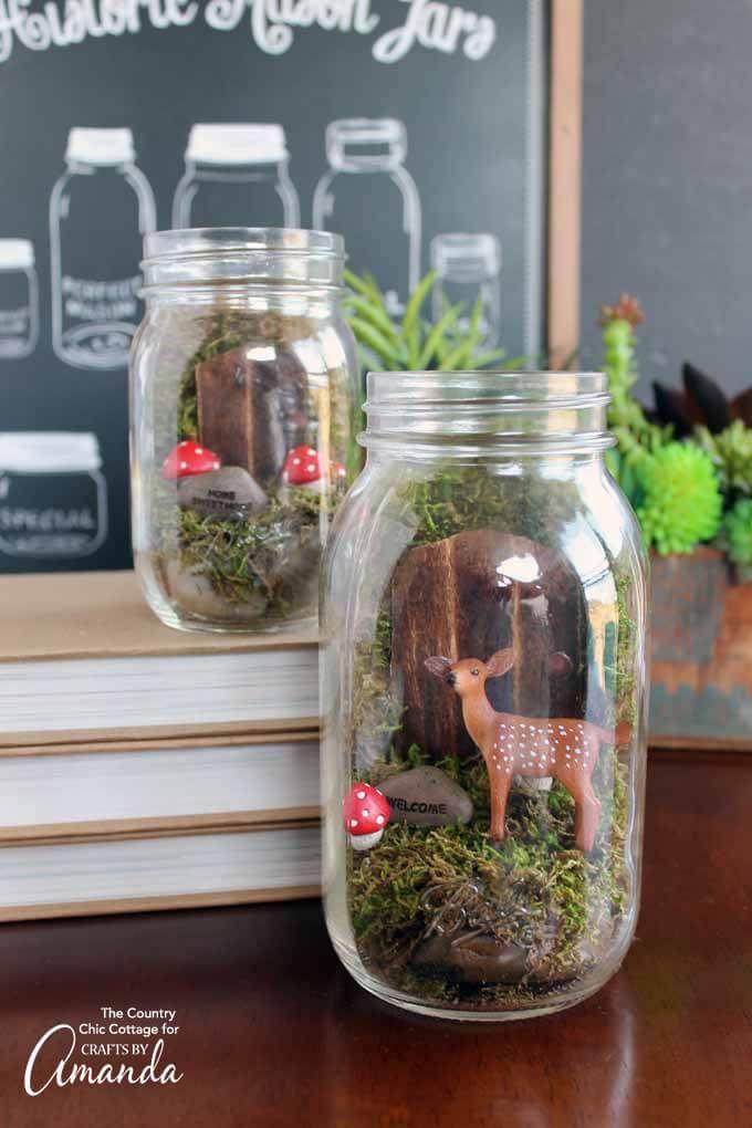 37+ Best Miniature DIY Fairy Garden Ideas & Accessories Your Kids Love images