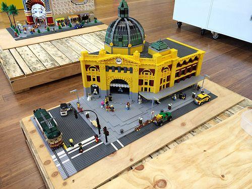 LEGO+Flinders+St+station