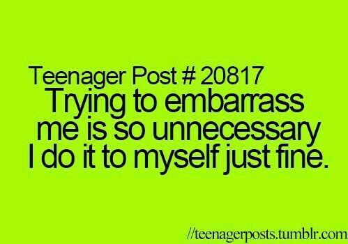 Discovered by NATHAN. Find images and videos about funny, teenager post and emba... - Bea