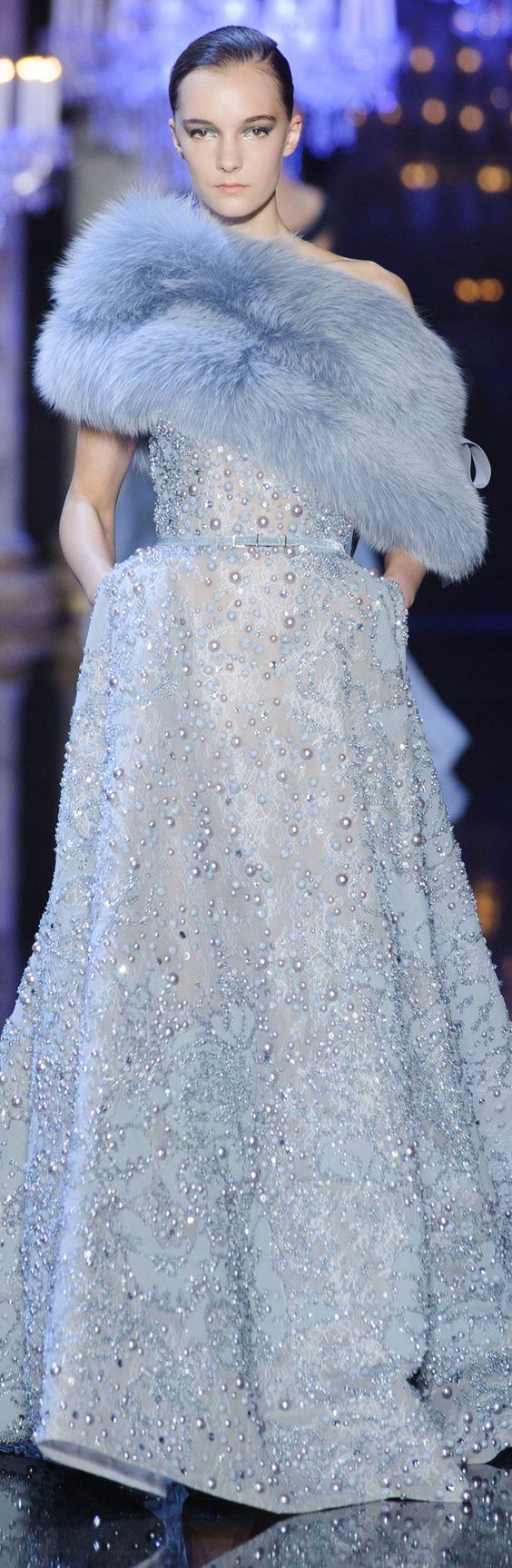 Emmy DE * Elie Saab Haute Couture Fall 2014: