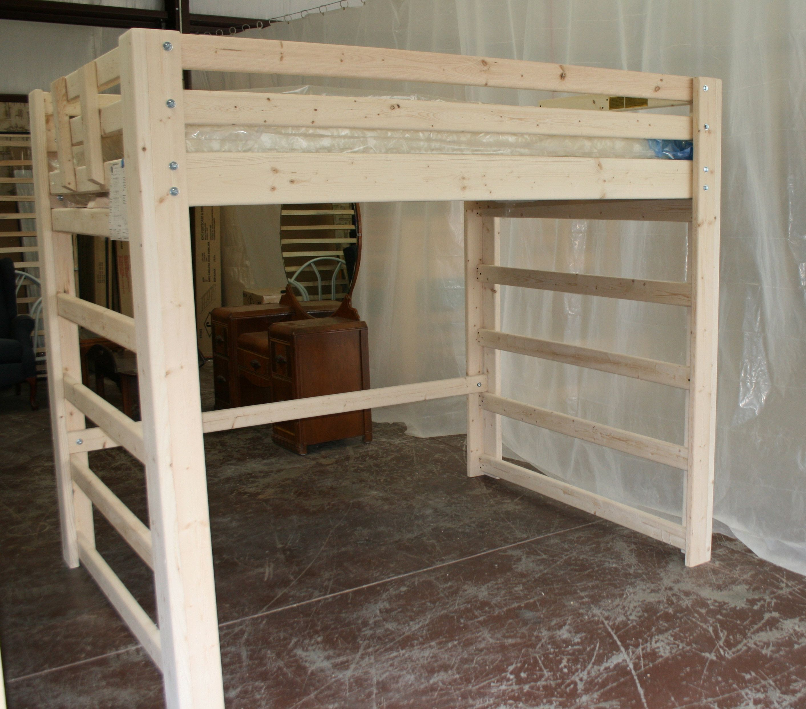 Full-Size Loft Bed