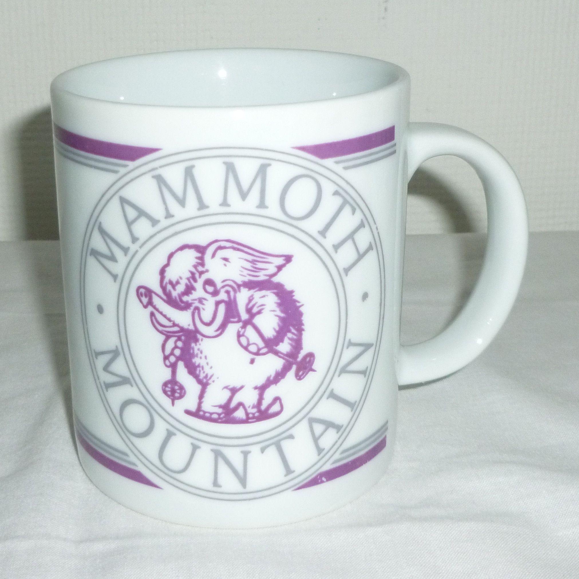 Mammoth Mountain California Skier Coffee Mug