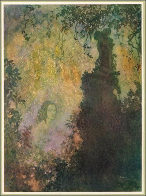 illustrations by Edmund Dulac