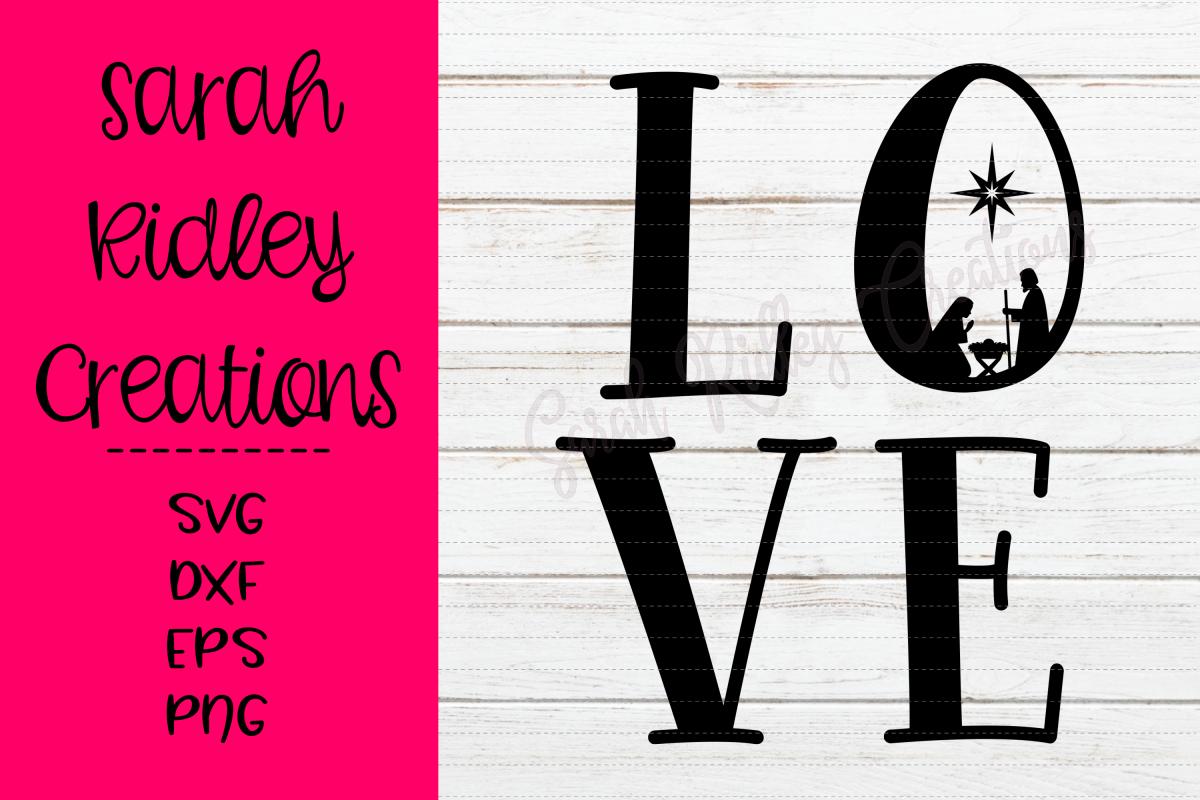 Nativity Love SVG File Christmas svg files, Svg, Svg file