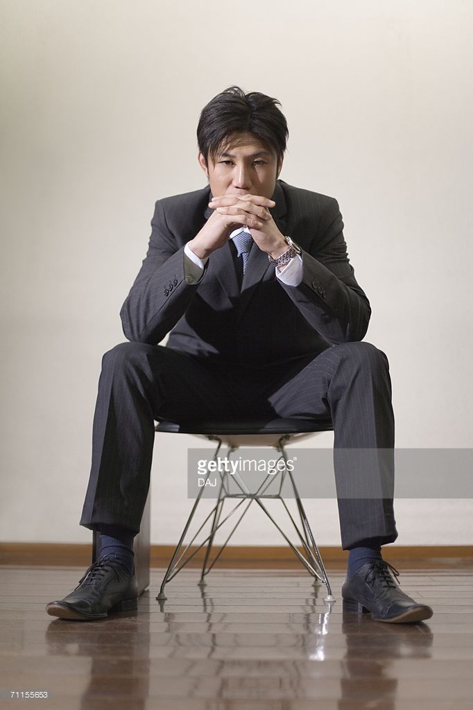 Portrait Of A Businessman Sitting On The Chair Picture Id71155653