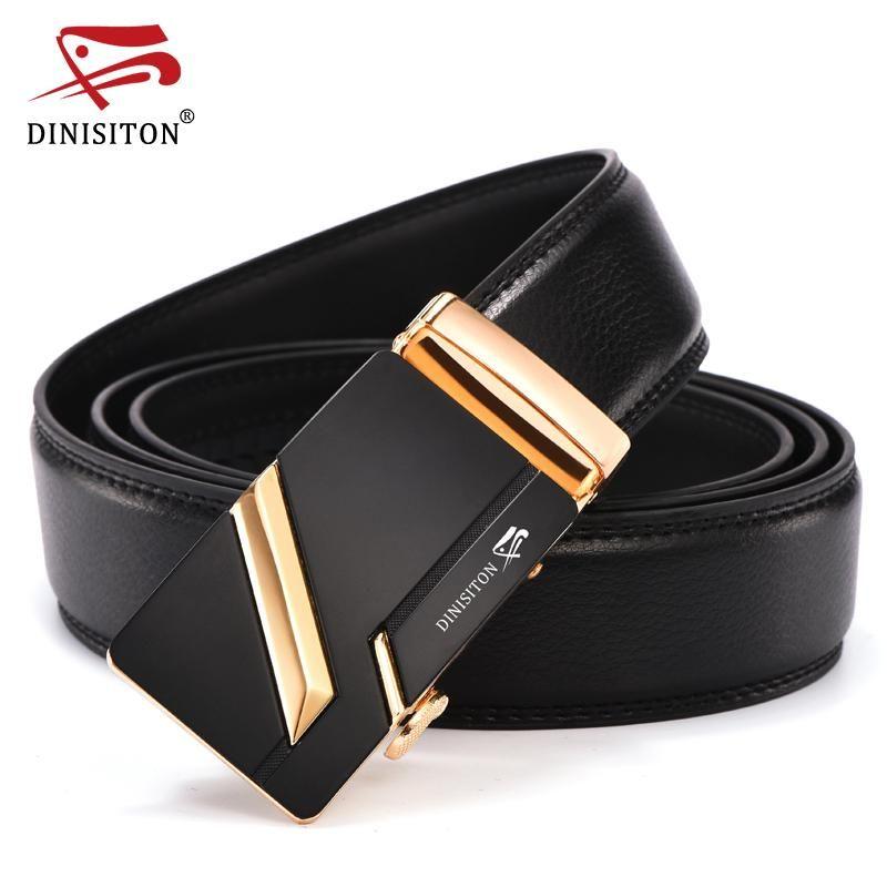 3d8616353 New Arrival Designer Genuine Leather Men Belts High Quality Automatic  Buckle Belt Man Strap