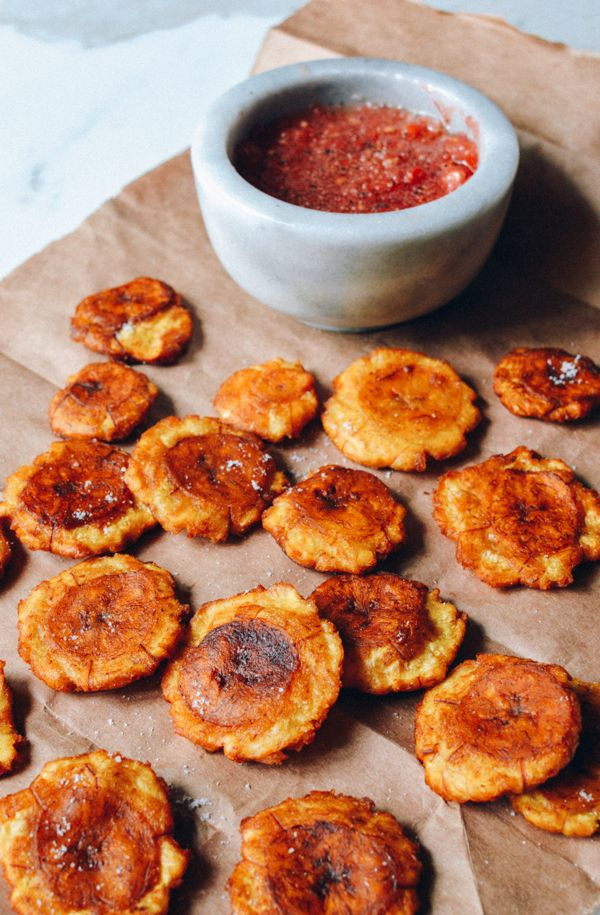 Tostones with tomato salsa click for recipe easy recipes chinese recipes tostones with tomato salsa forumfinder Gallery