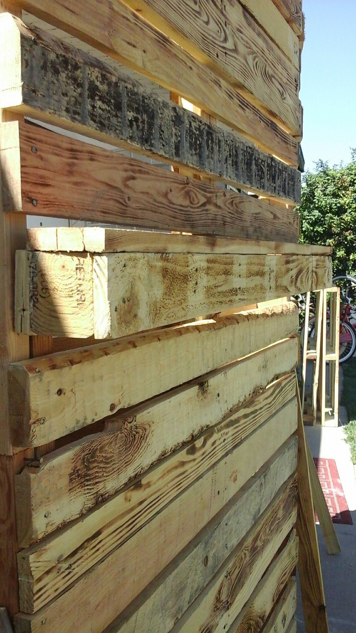 Pallet backdrops (for sale or rent) affordable , in the Ontario,CA ...