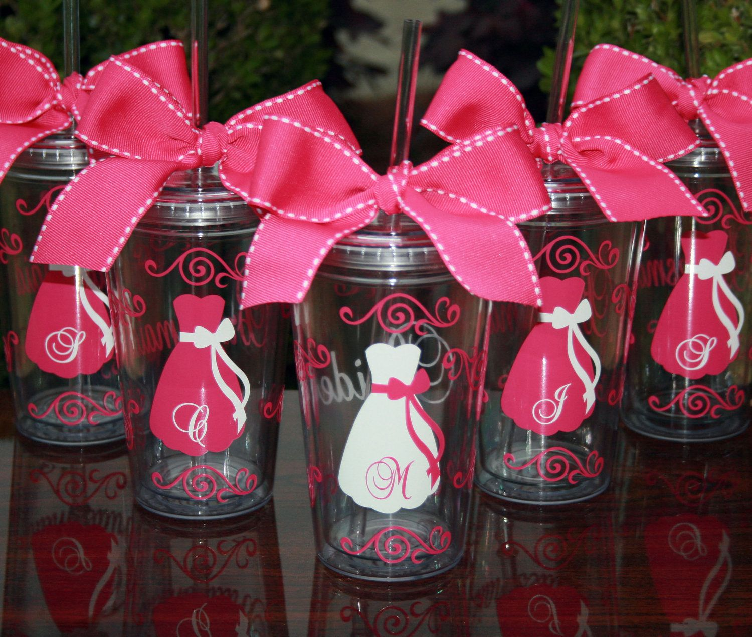 5 Personalized Bride and Bridesmaids by SweetSouthernCompany, $60.00 ...