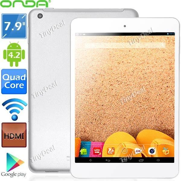 ONDA V819 Mini 79 IPS Screen Android 42 A31s Quad Core 16GB Tablet PC