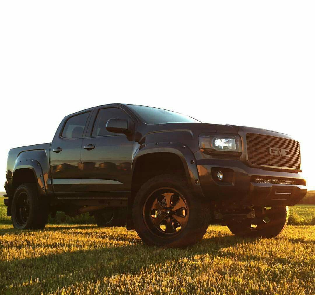 Gmc Canyon 2014 2019 Legend: 2015 GMC Canyon Lifted