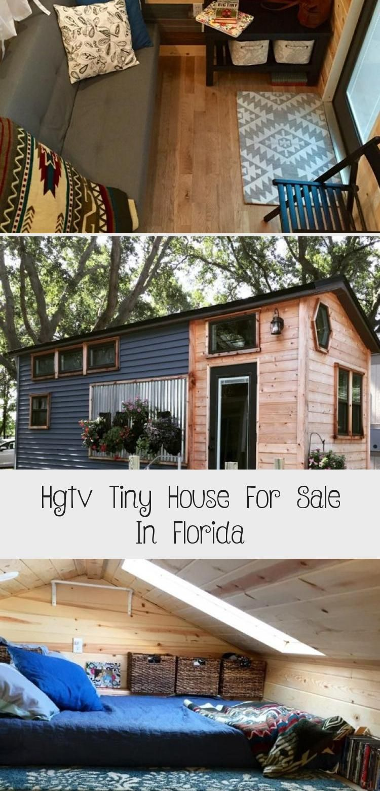 Hgtv Tiny House For Sale In Florida In 2020 Tiny House