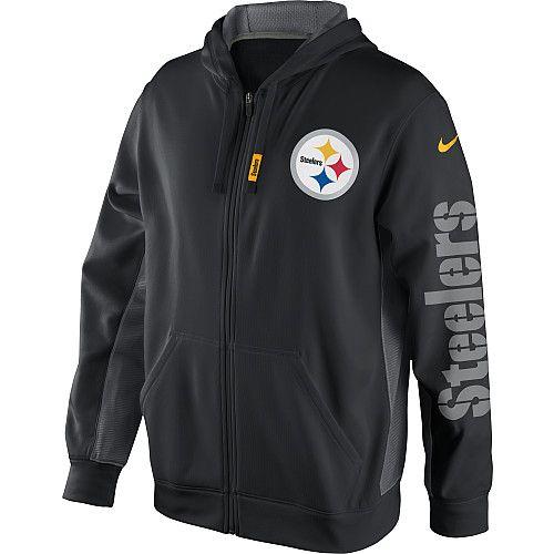 Men's, SMALL, Nike Pittsburgh Steelers Hooded Sweatshirt - NFLShop.com