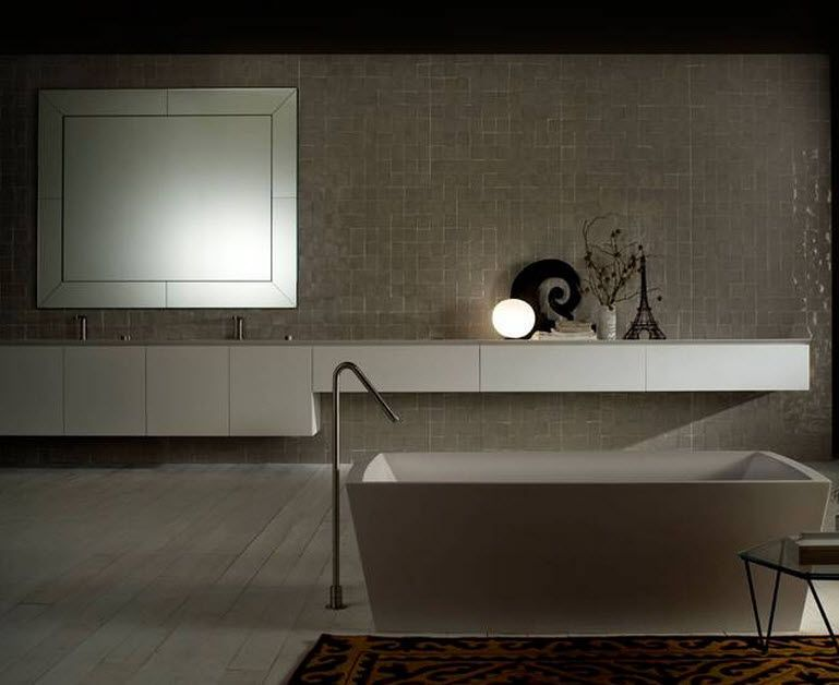 salle de bains contemporaine b14 by norbert wangen boffi. Black Bedroom Furniture Sets. Home Design Ideas