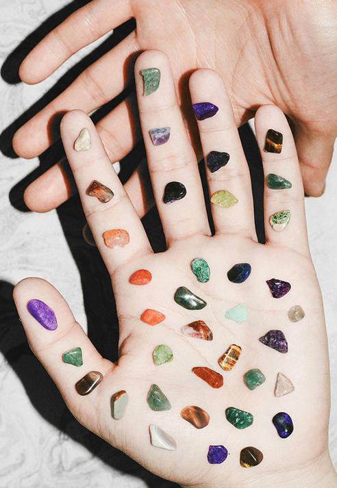 Brian Vu Via Little Paper Planes Crystals Inspiration Stones