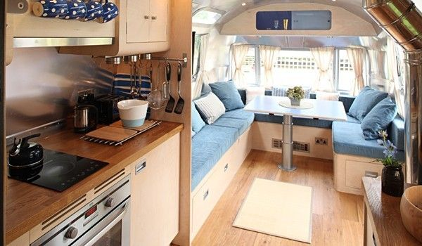 The Park Mawgan Porth Airstreams | Cornwall, England UK #glamping in refurbished and retro airstreams on the coast