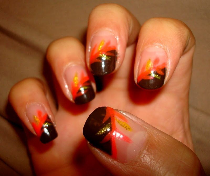 thanksgiving nails | Thanksgiving Nail Designs | how to nails designs |  nails by design . - Thanksgiving Nails Thanksgiving Nail Designs How To Nails