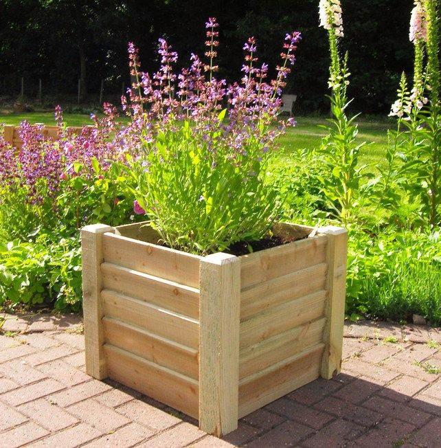 Wooden Planter Spring Sale Now On With Images Wooden Planters Garden Furniture Sale Planters