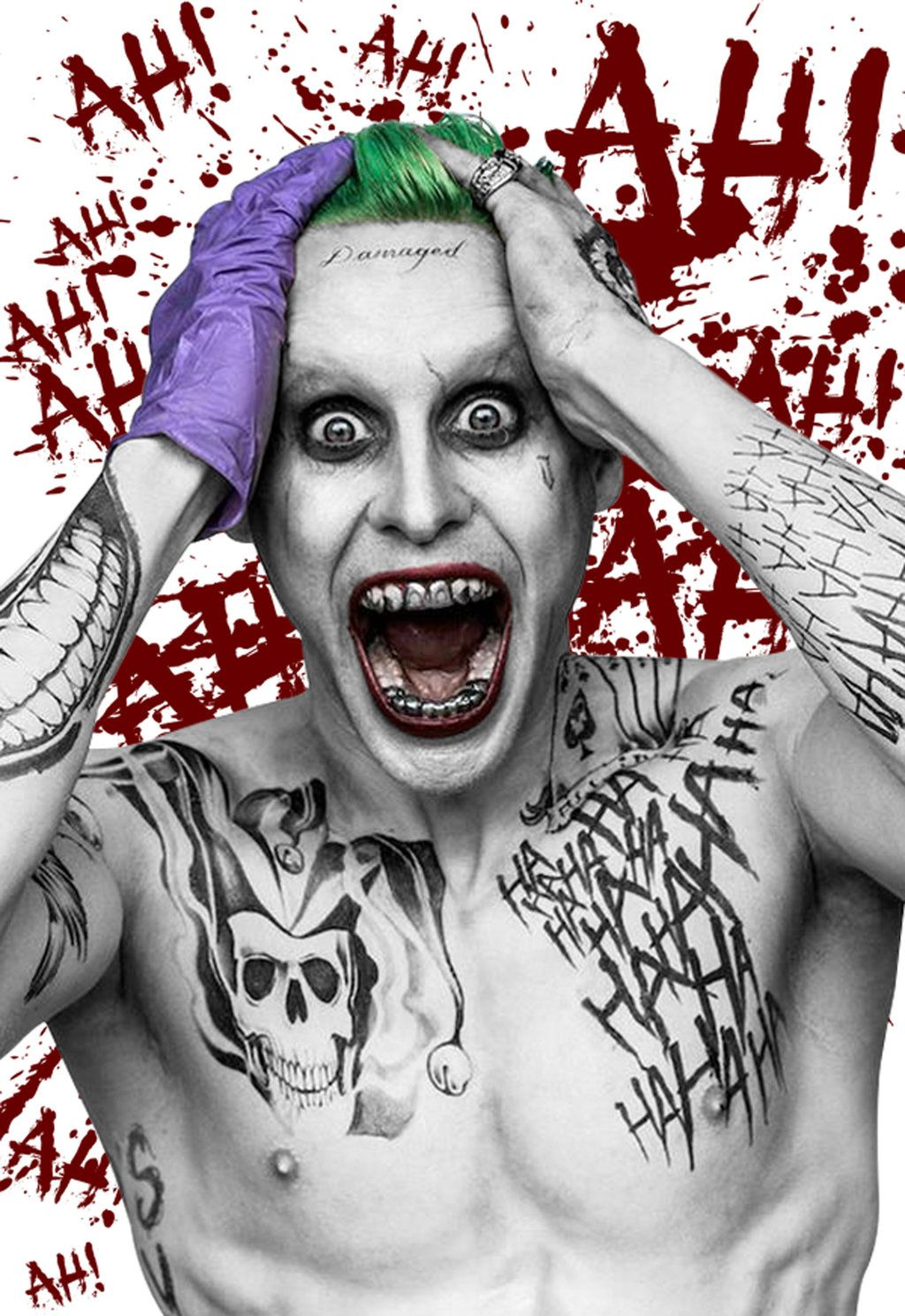 Joker Wig Suicide Squad for Halloween 2015 http//www