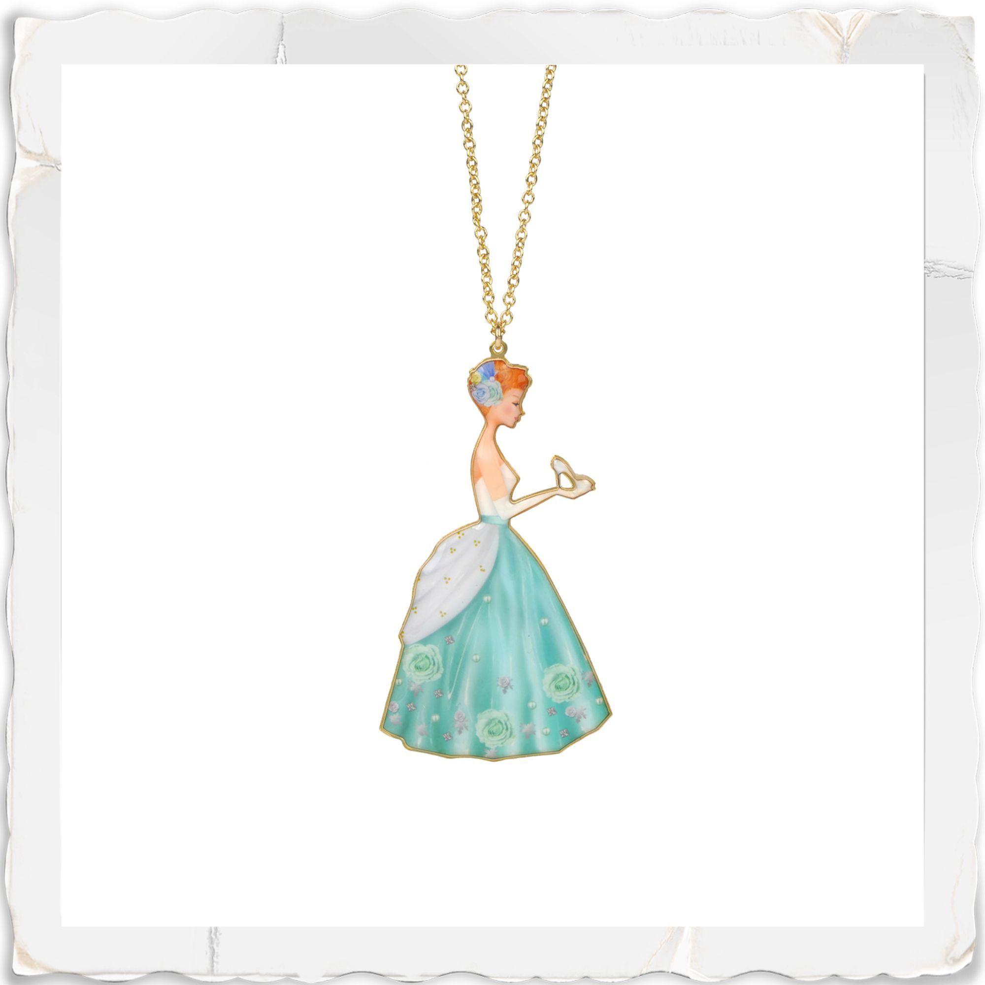Cinderella slipper necklace cinderella slipper jewelry cinderella slipper necklace aloadofball Images
