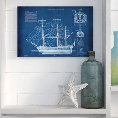 Nautical Art For Bedroom Google Search Graphic Art Print Home Wall Art Framed Oil Painting
