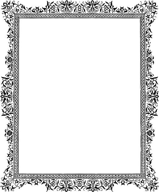 Victorian Border Clip Art Item 2 Vector Magz Free Download Rh Co Uk Rose Christmas