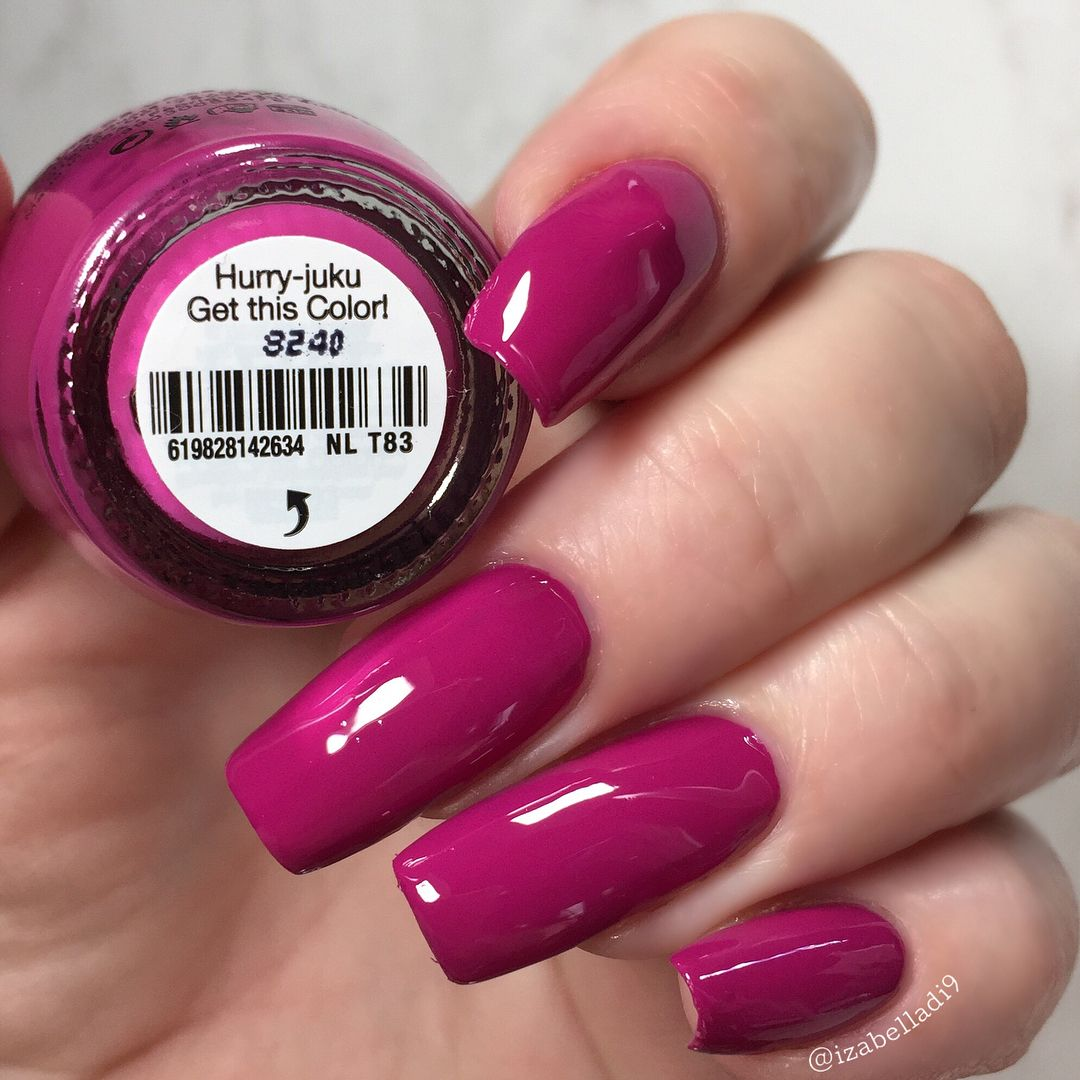This Is Hurry Juku Get This Color From Opi Spring 2019 Tokyo