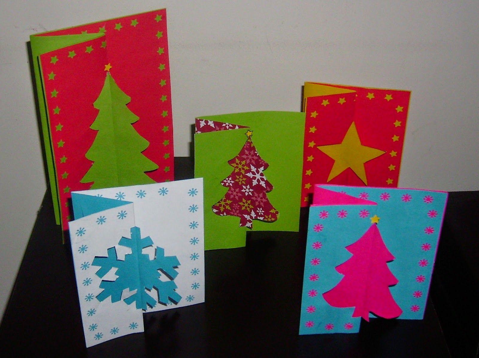 Ve este v deo de como hacer tarjetas navide as con hojas - Manualidades tarjeta navidena ...