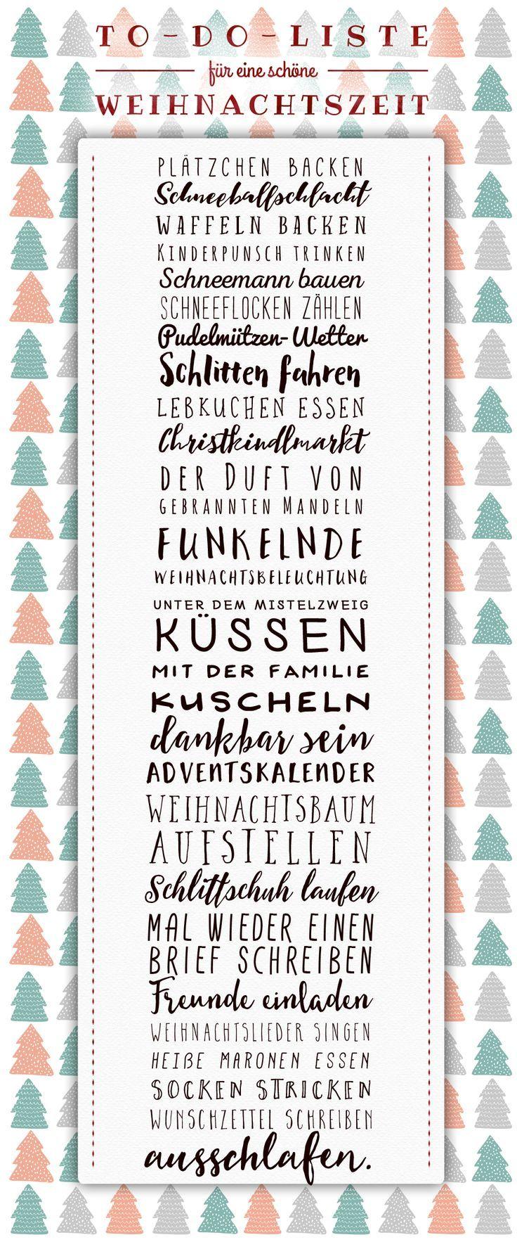 Viele Ideen für eine schöne Weihnachtszeit mit der Familie ...