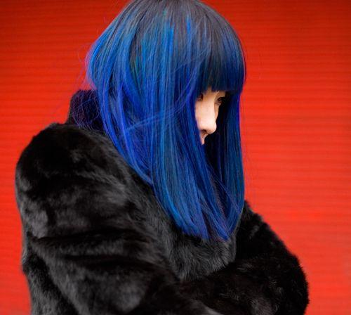 #blue #hair
