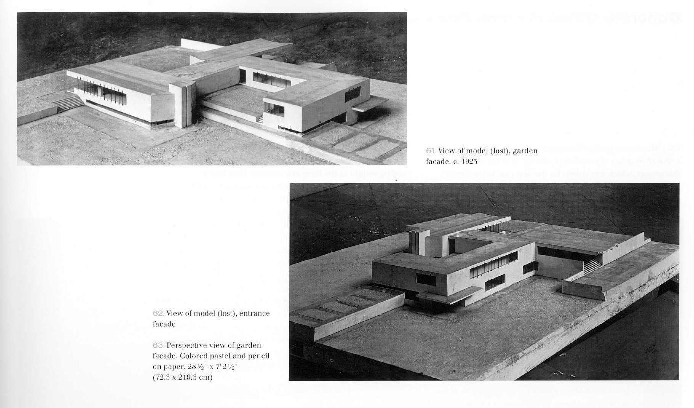 Villa Mies Der Rohe mies der rohe model of kroller and muller villa wassenar