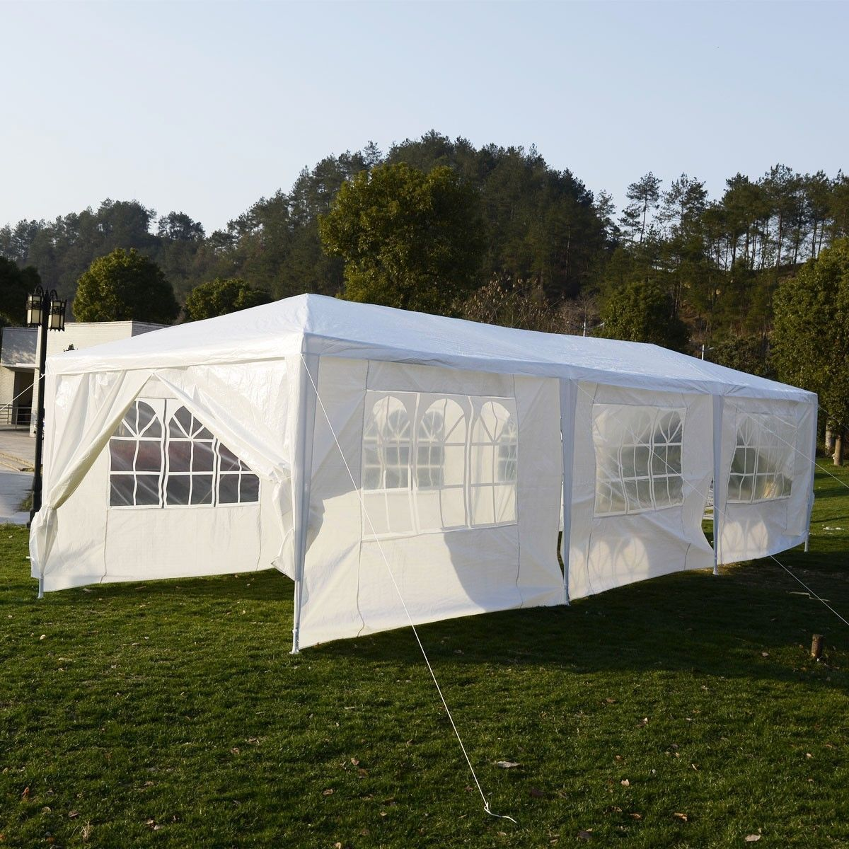 New Outdoor Canopy Party Wedding Tent Heavy duty Gazebo Pavilion Cater Events-white-10 & New Outdoor Canopy Party Wedding Tent Heavy duty Gazebo Pavilion ...
