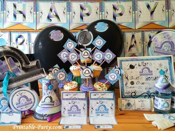 astrology themed party supplies