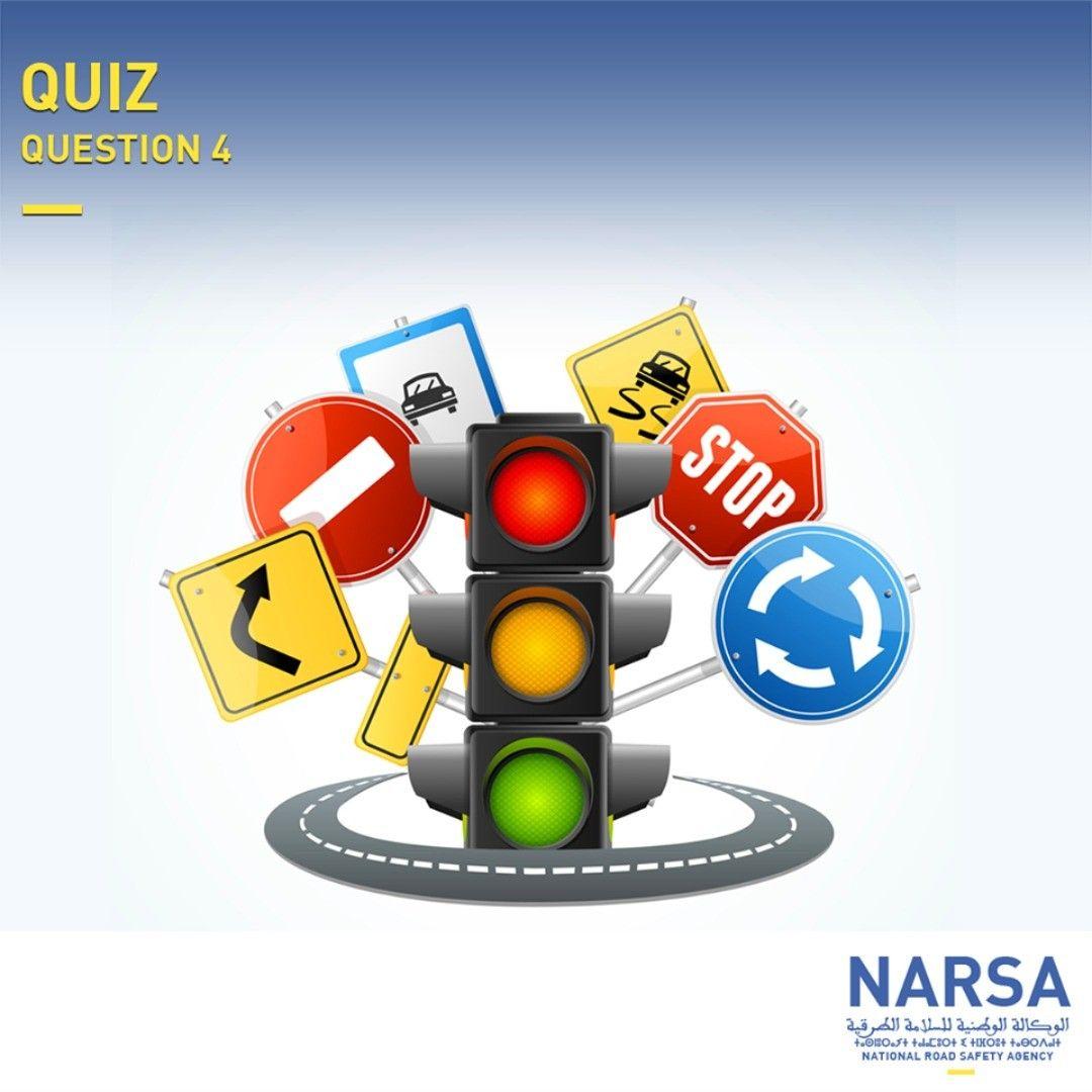 ما هي أهمية التربية على السلامة الطرقية Narsa Narsa Quiz Securiteroutiere Roadsafety Quiz السلامة الطرقية Accidents حوادث