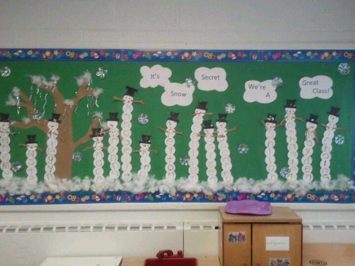 It's Snow Secret We're A Great Class!