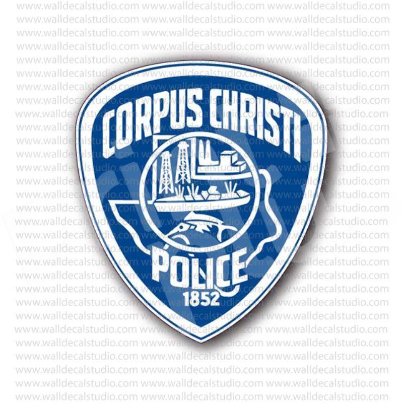 Corpus christi police sign sticker